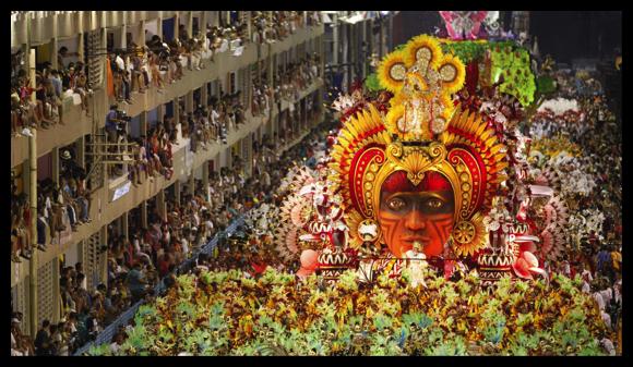 DropShadow ~ El carnaval de Río en el celular