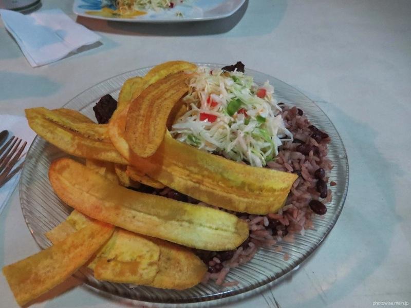 マナグアのローカルレストラン