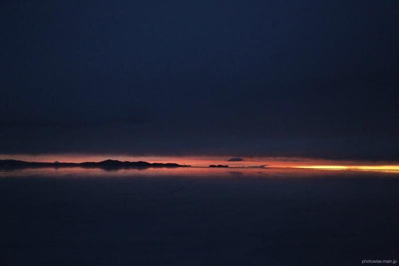 ウユニ塩湖の朝2