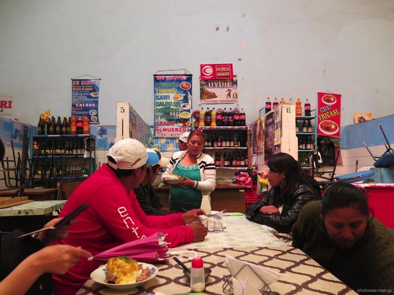 ウユニのメルカド食堂3
