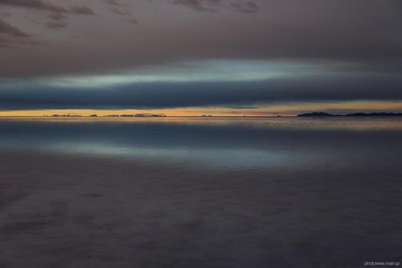 ウユニ塩湖の朝3
