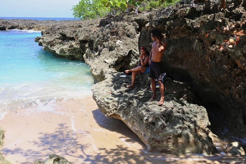 Playa Blancaと若者