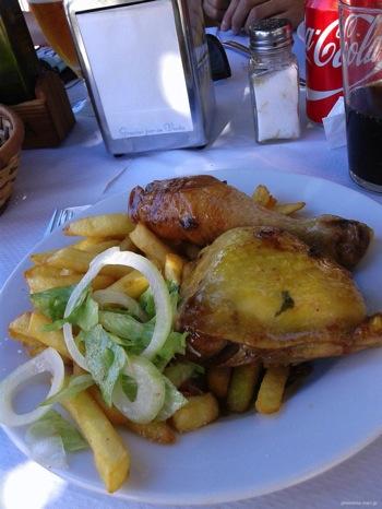 巡礼中の食事