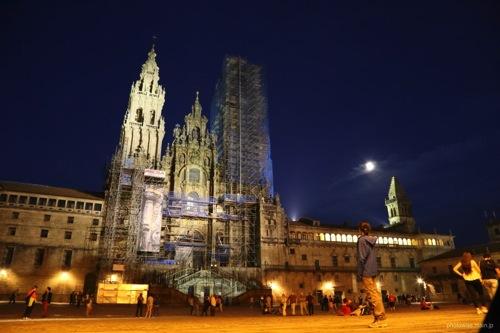 サンティアゴ・デ・コンポステーラ大聖堂は改装中