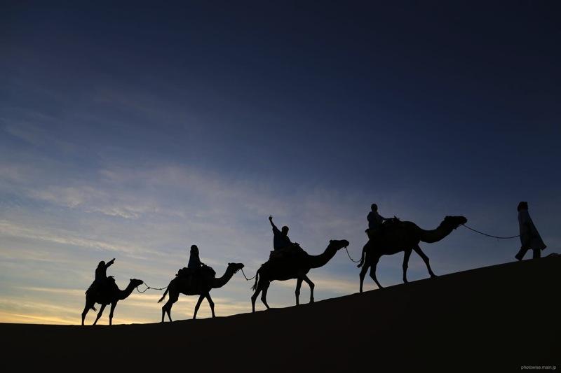 メルズーガ沙漠キャラバン