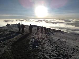 キリマンジャロ頂上へ
