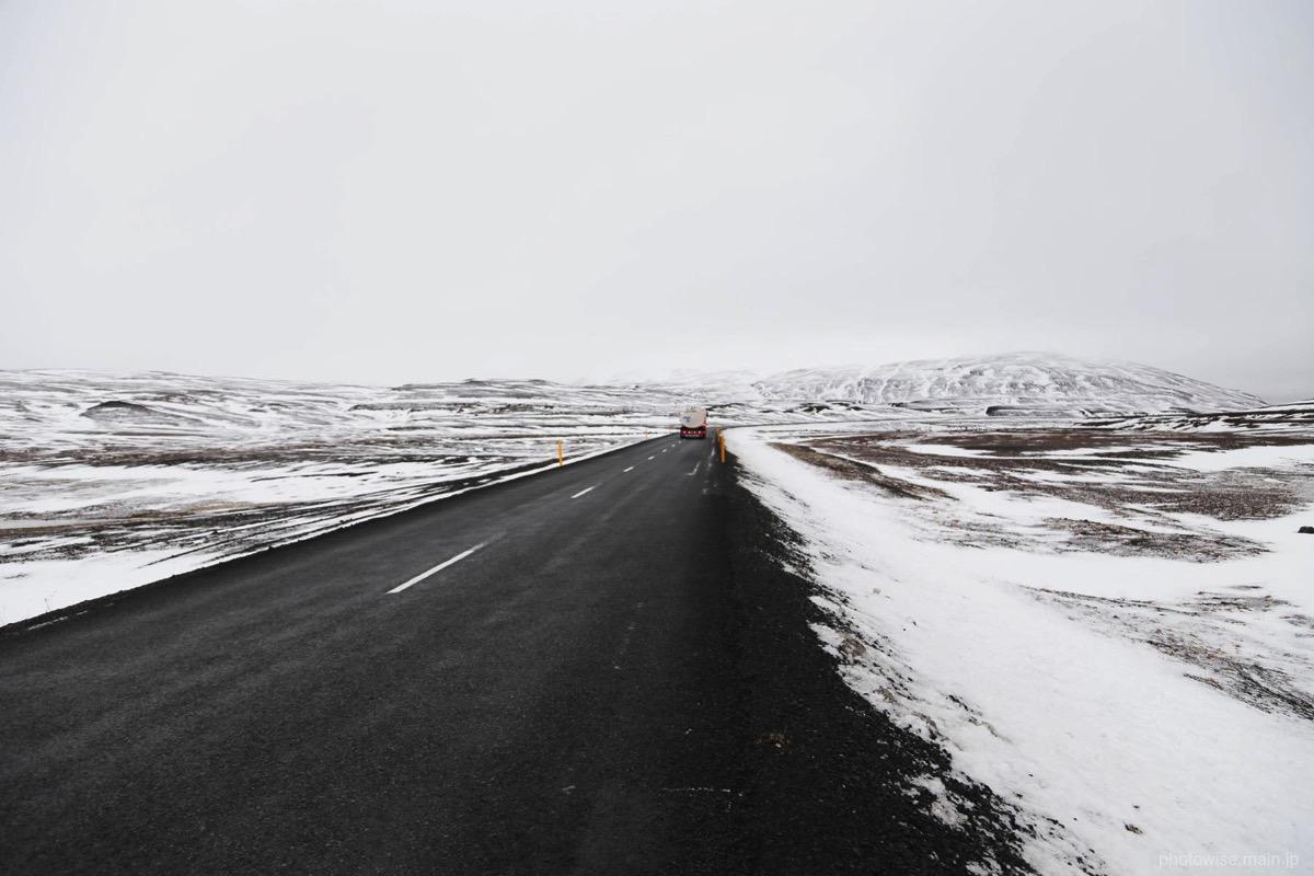 アイスランド北側