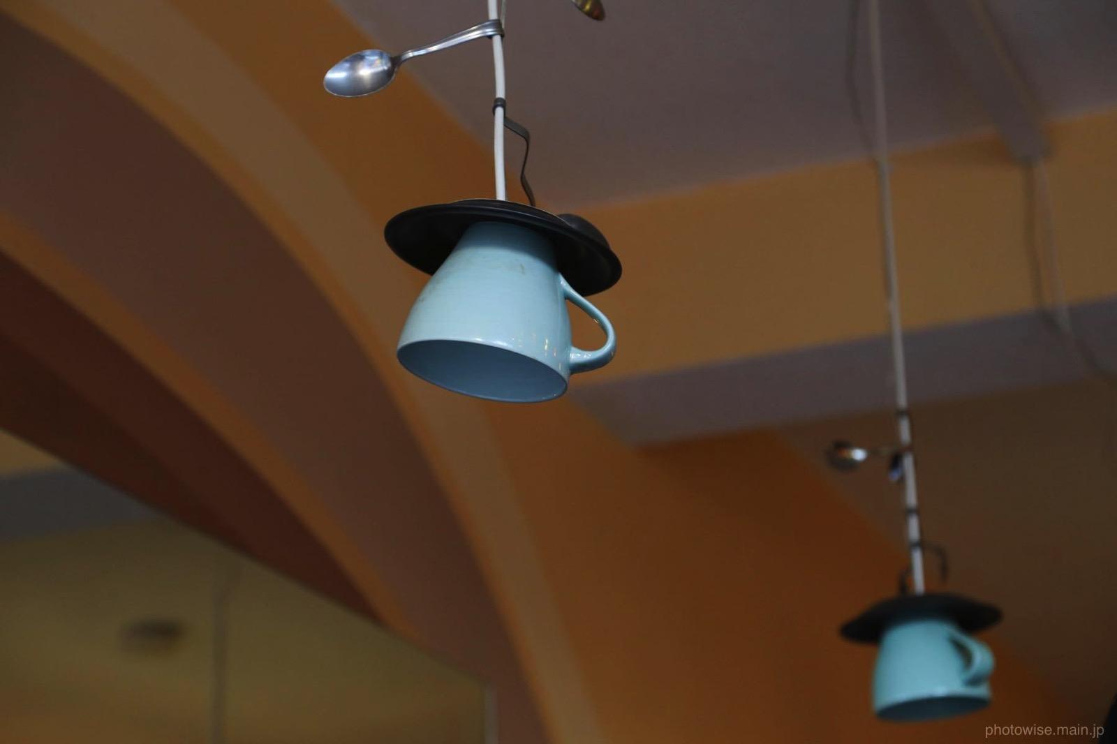 カップソーサーのランプ