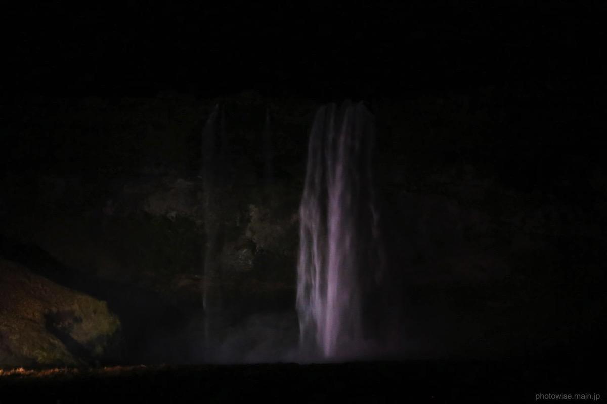夜のセリャラントスフォス