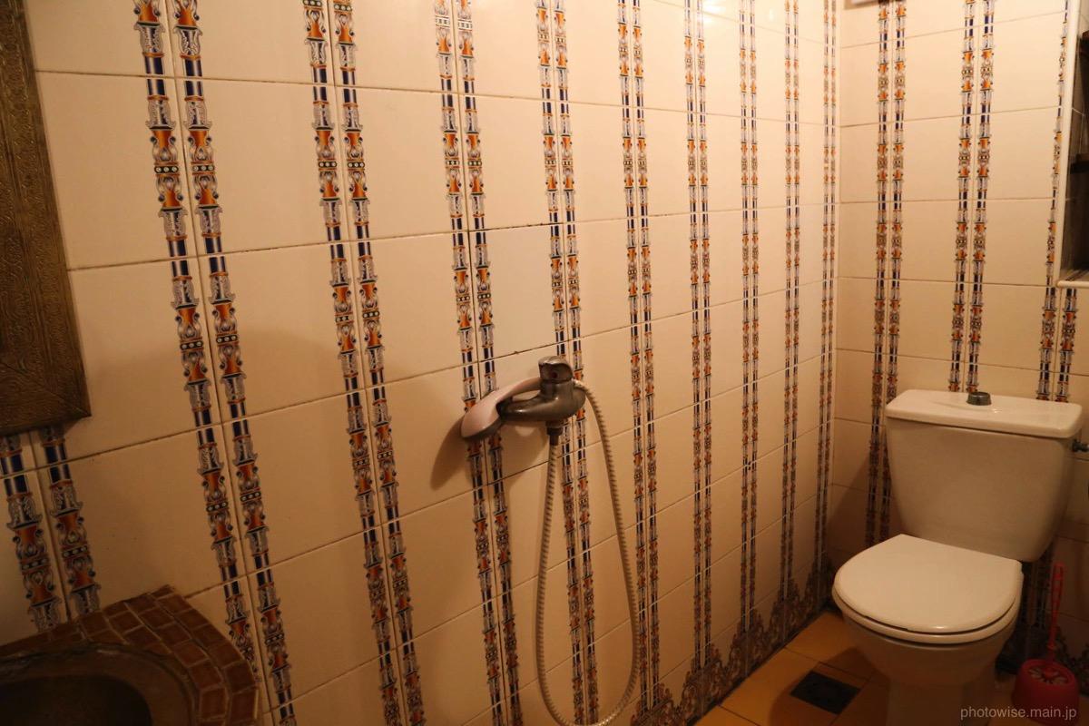 リヤドのシャワー&トイレ