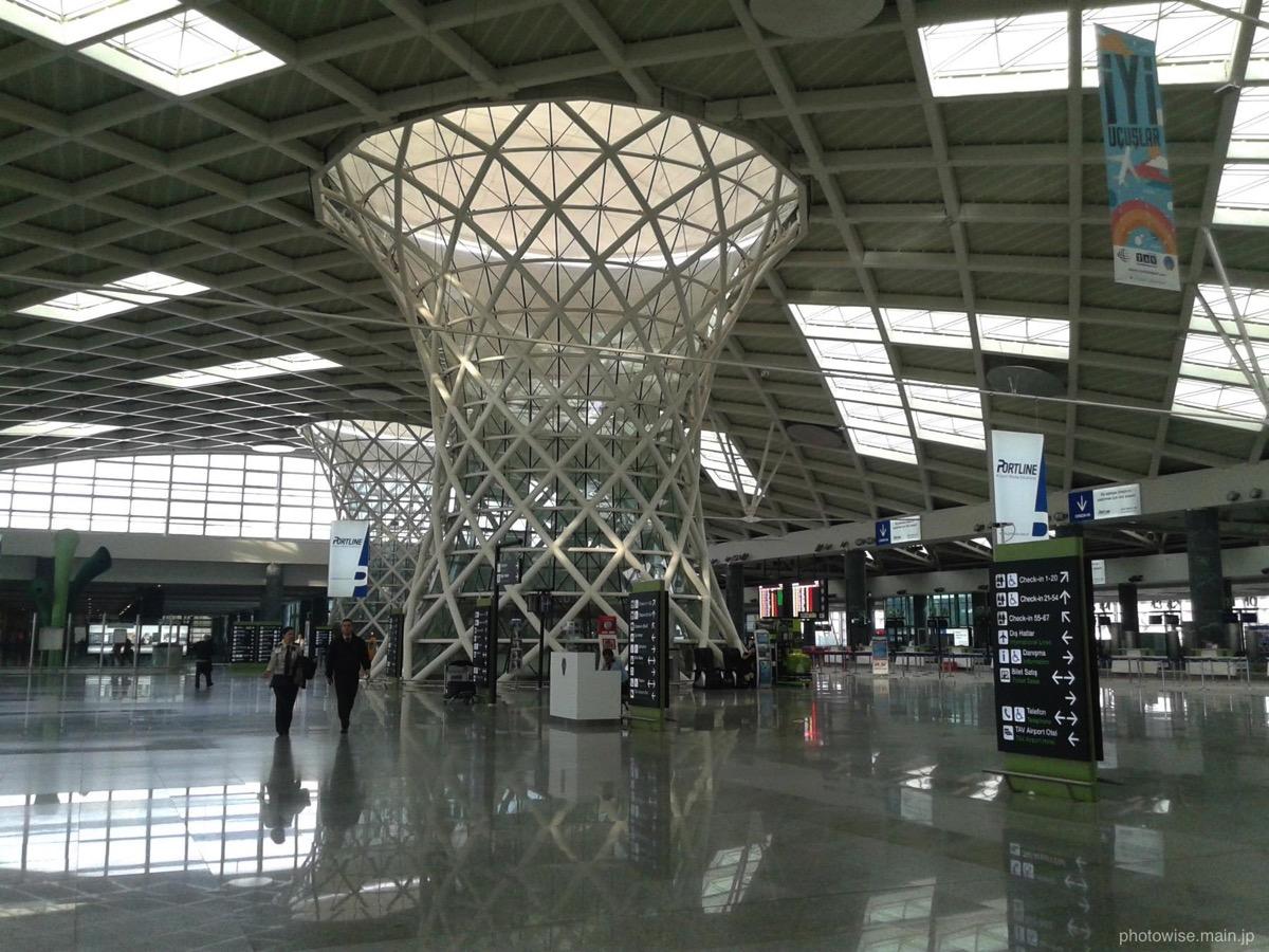 イズミルの空港