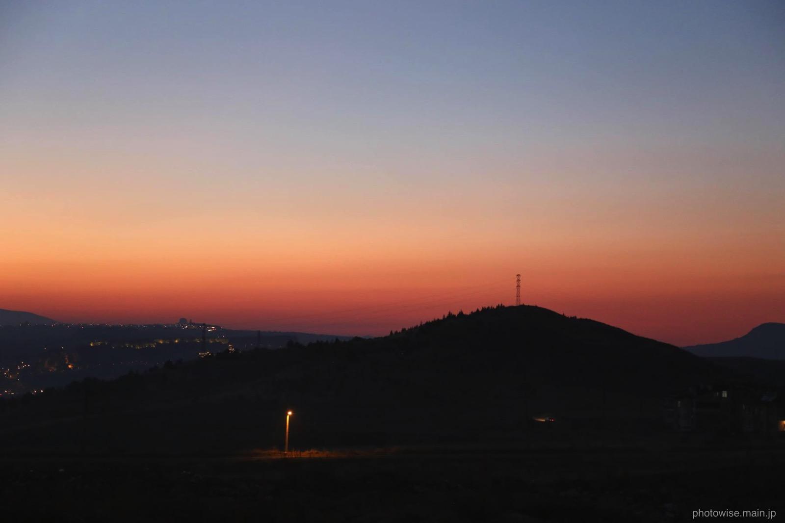 ウルギュップの夕日3