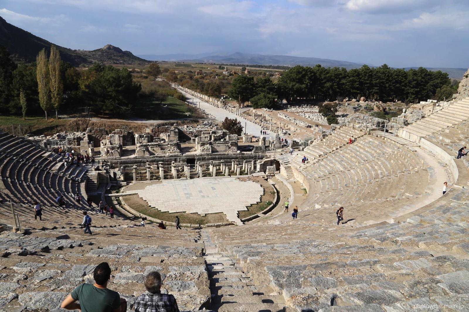 エフェソスの大劇場