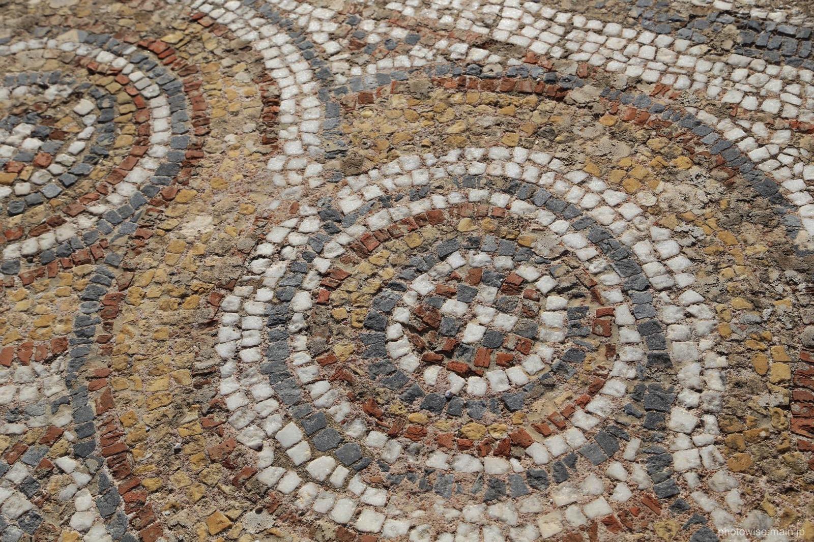 エフェソス遺跡のタイル