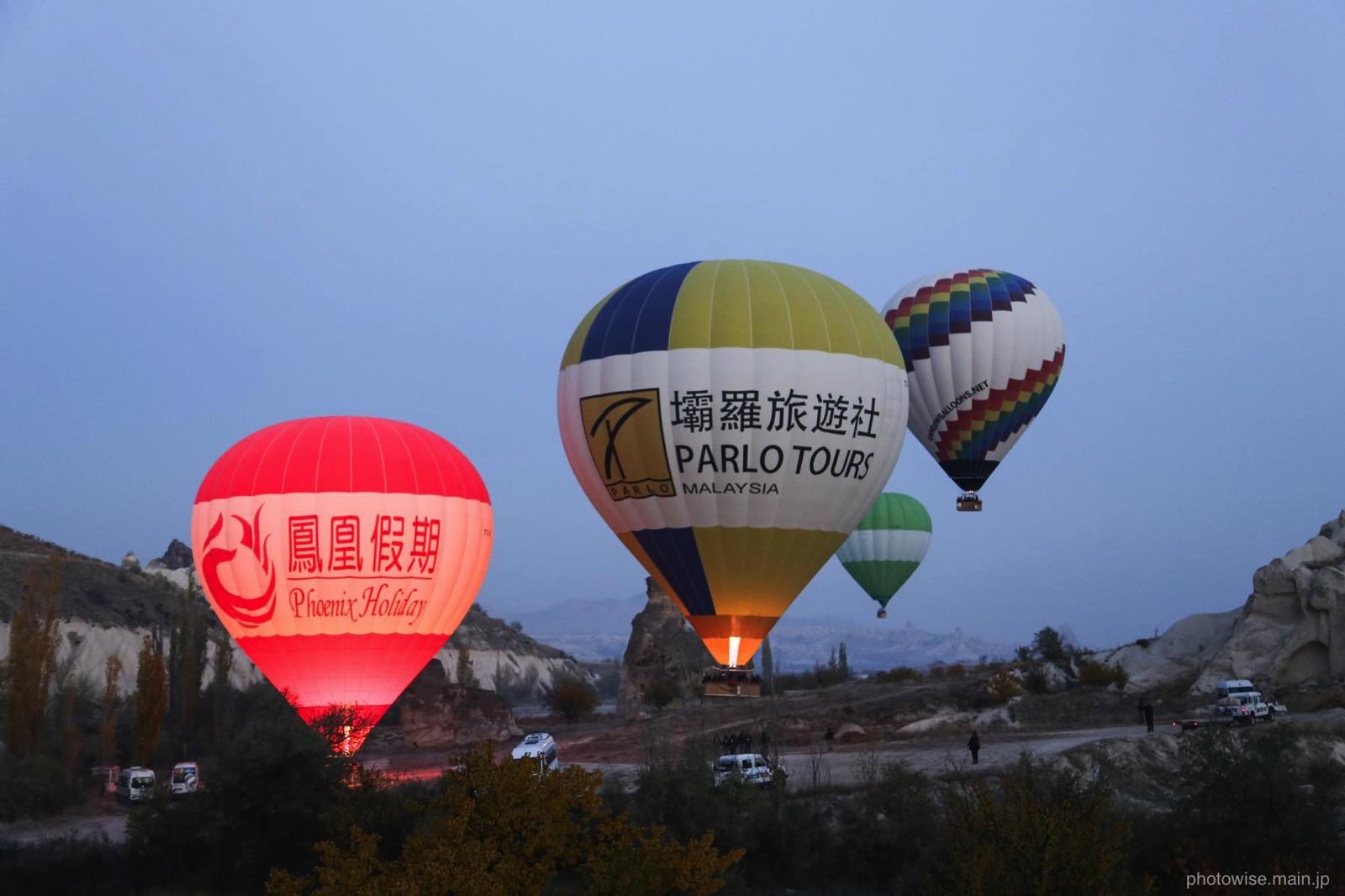 カッパドキアの気球スポンサー