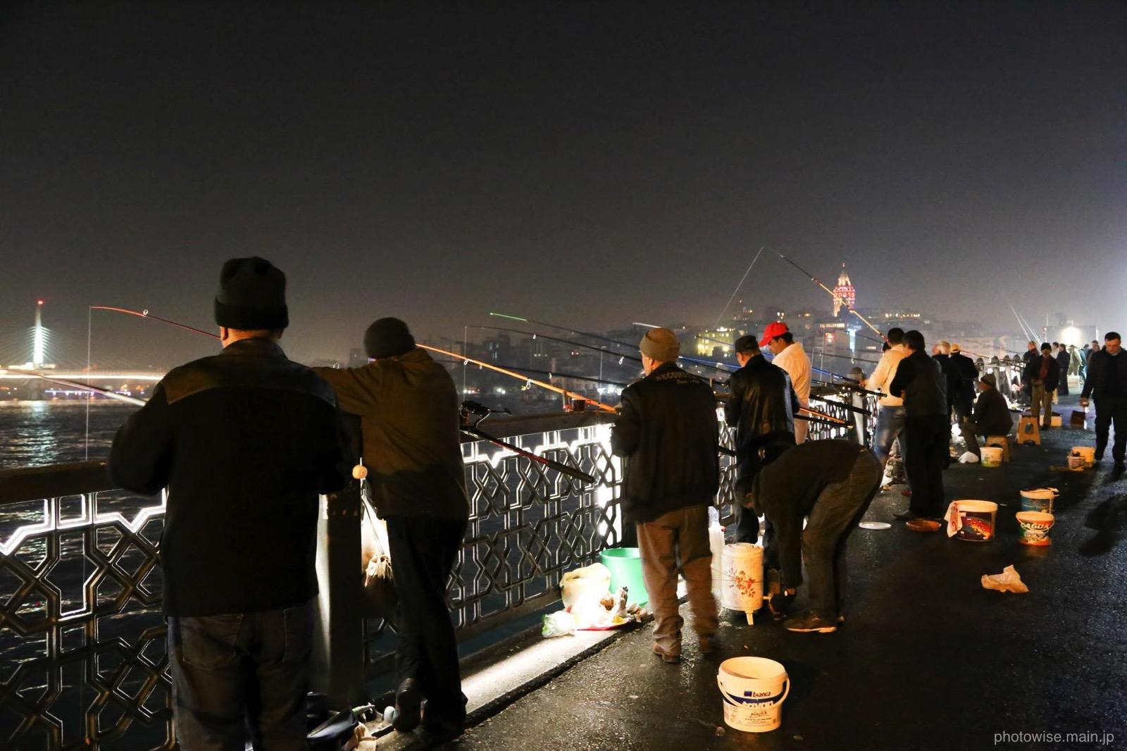 ガラタ橋の夜