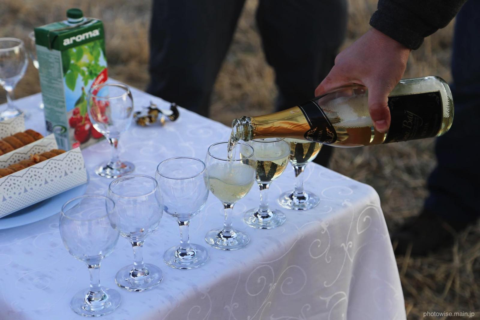 シャンパンタイム