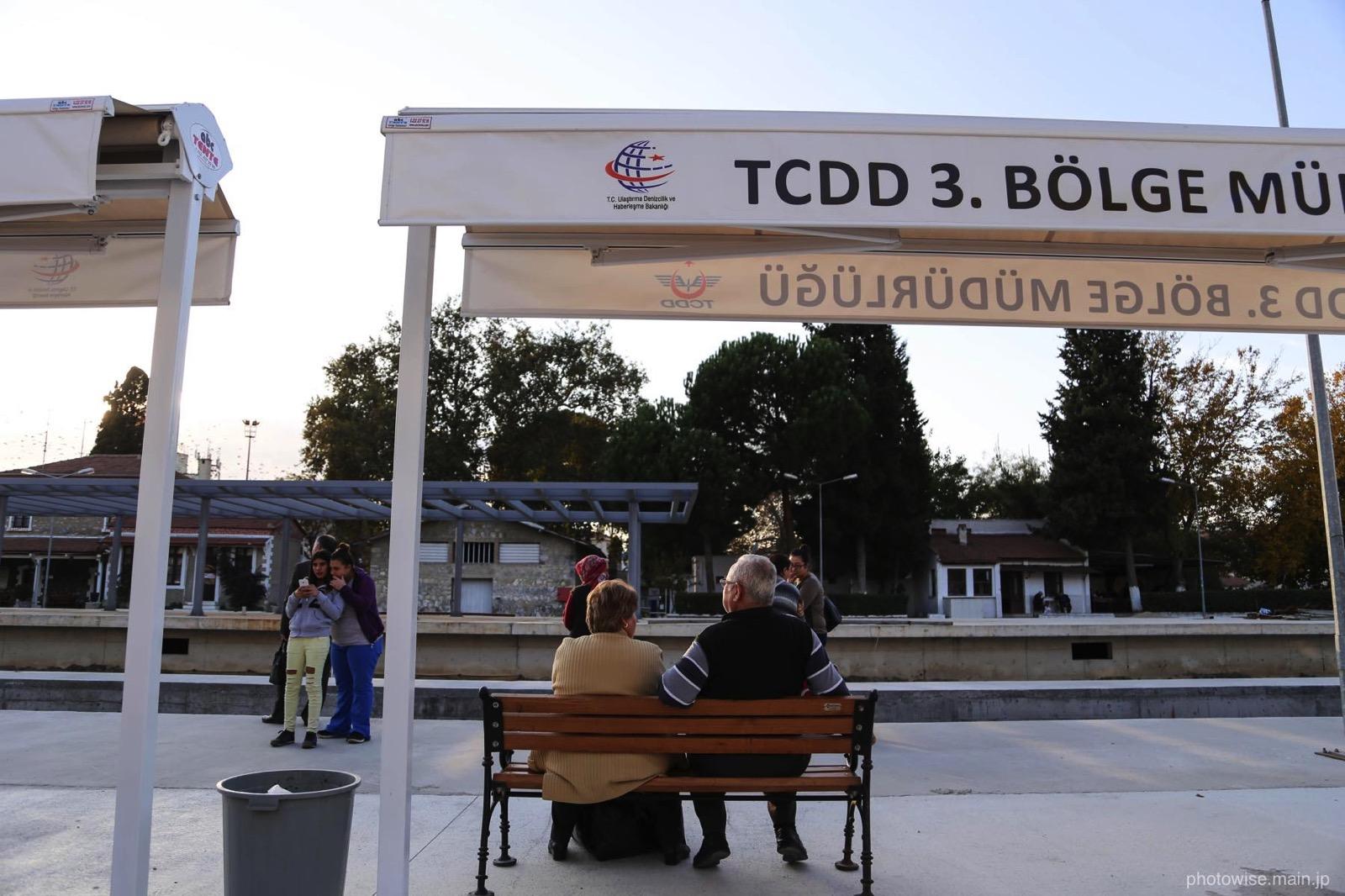 セルチュクの電車駅