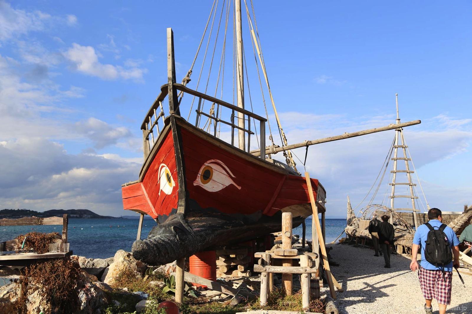 トルコの古い船