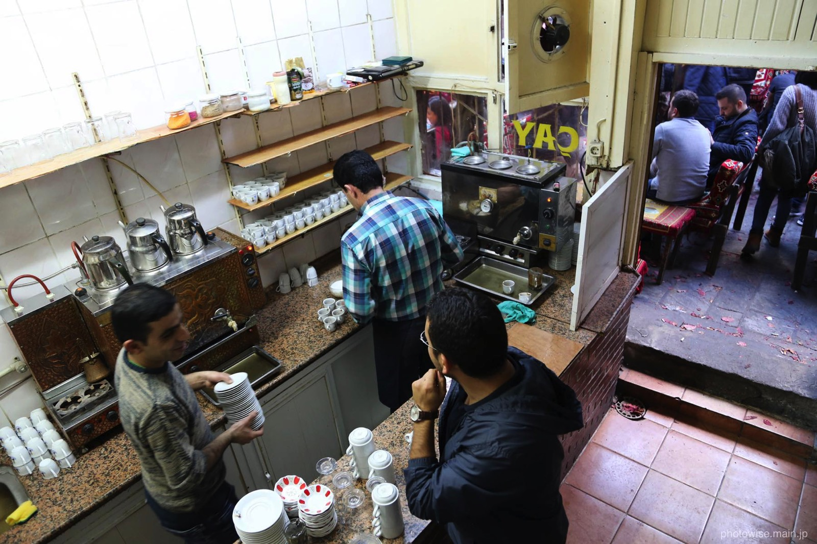 伝統的なカフェ