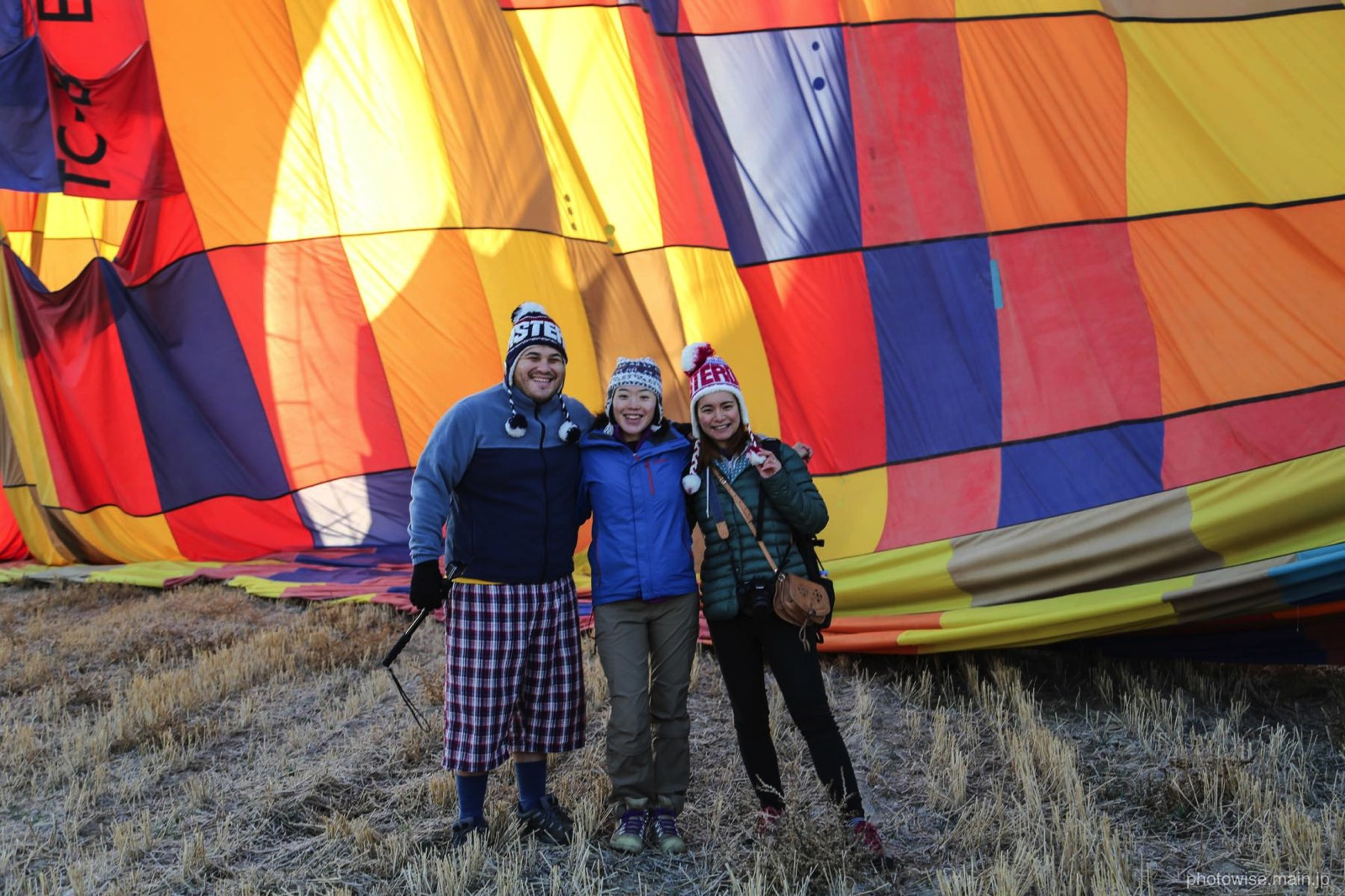 大満足の気球ツアー