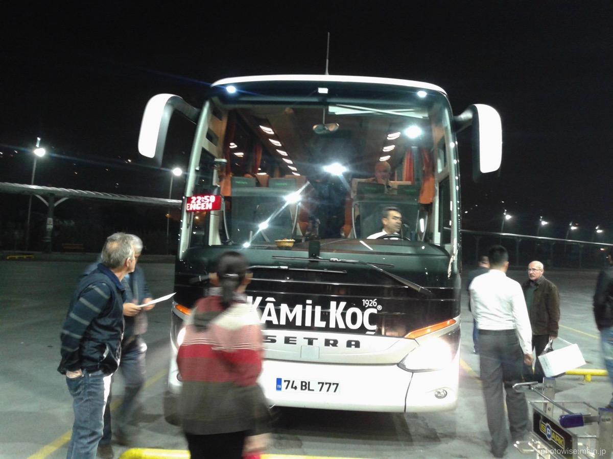 Kamilkoc社のバス