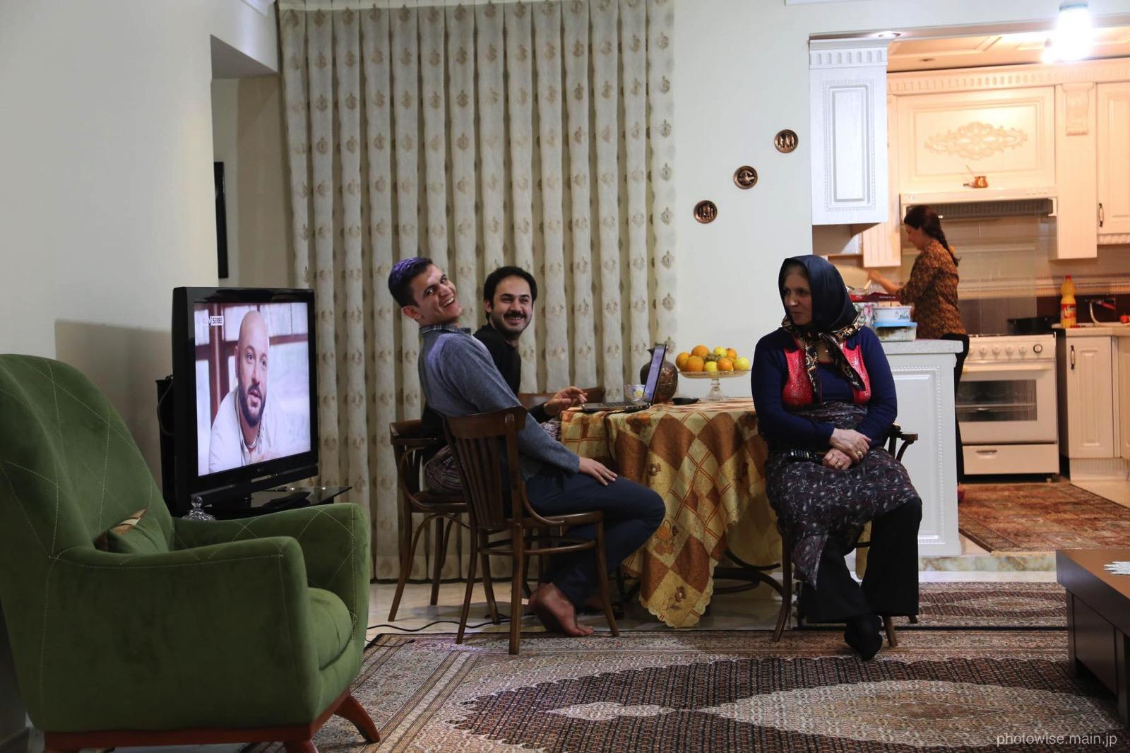 イラン人のお宅