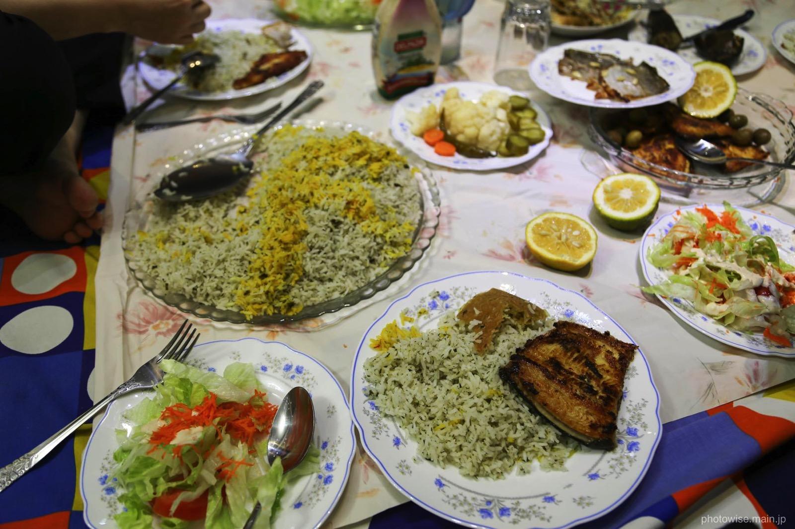 イラン式ディナー2