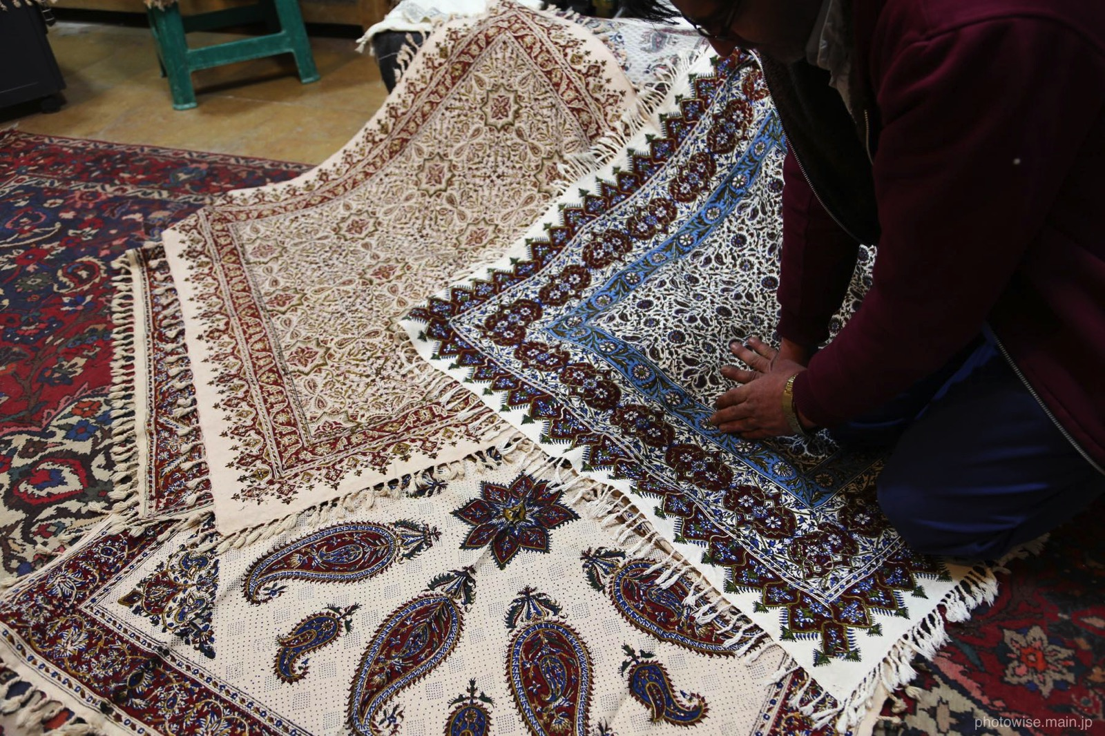 エスファハーンの織物
