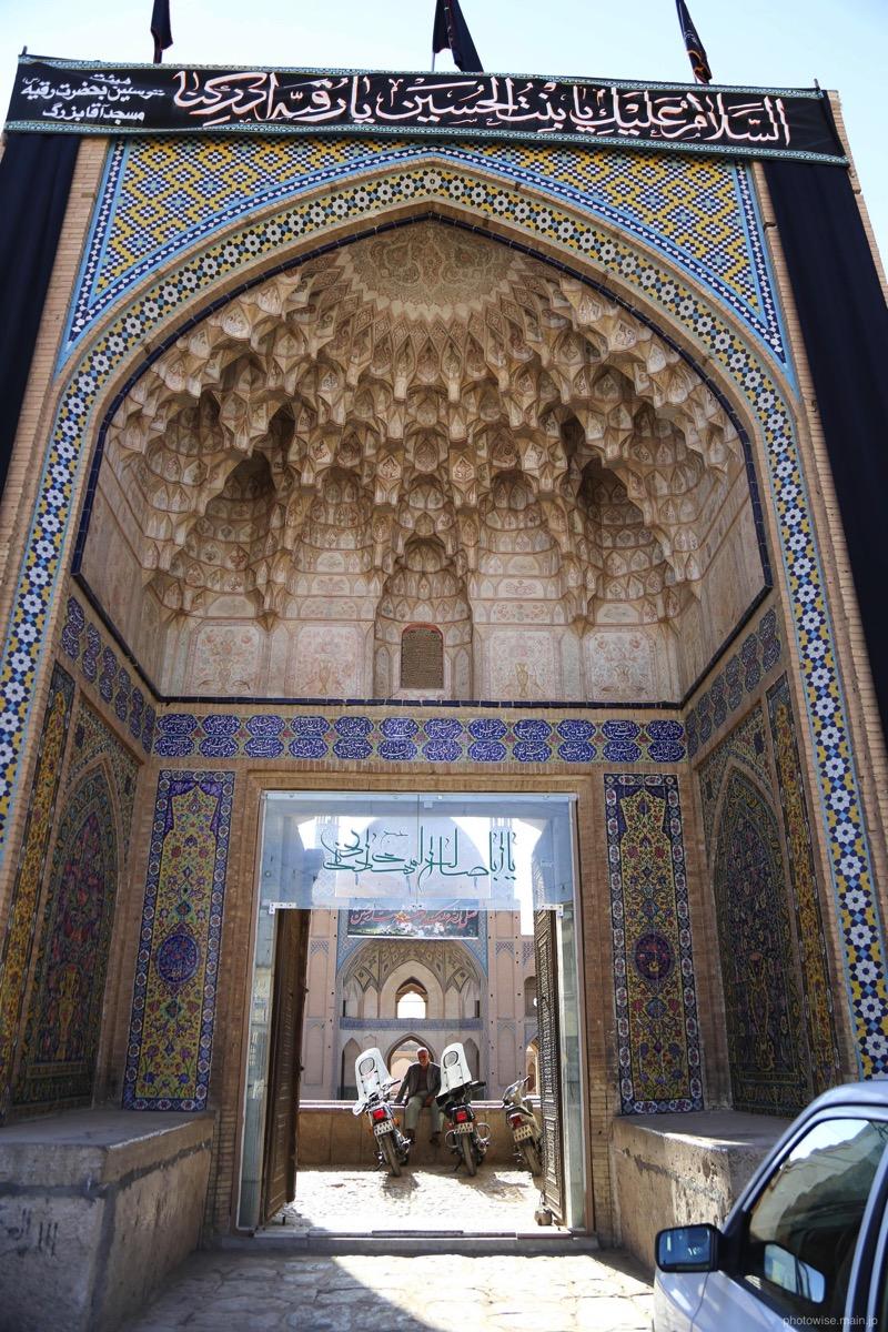 カシャーンで一番古いモスク