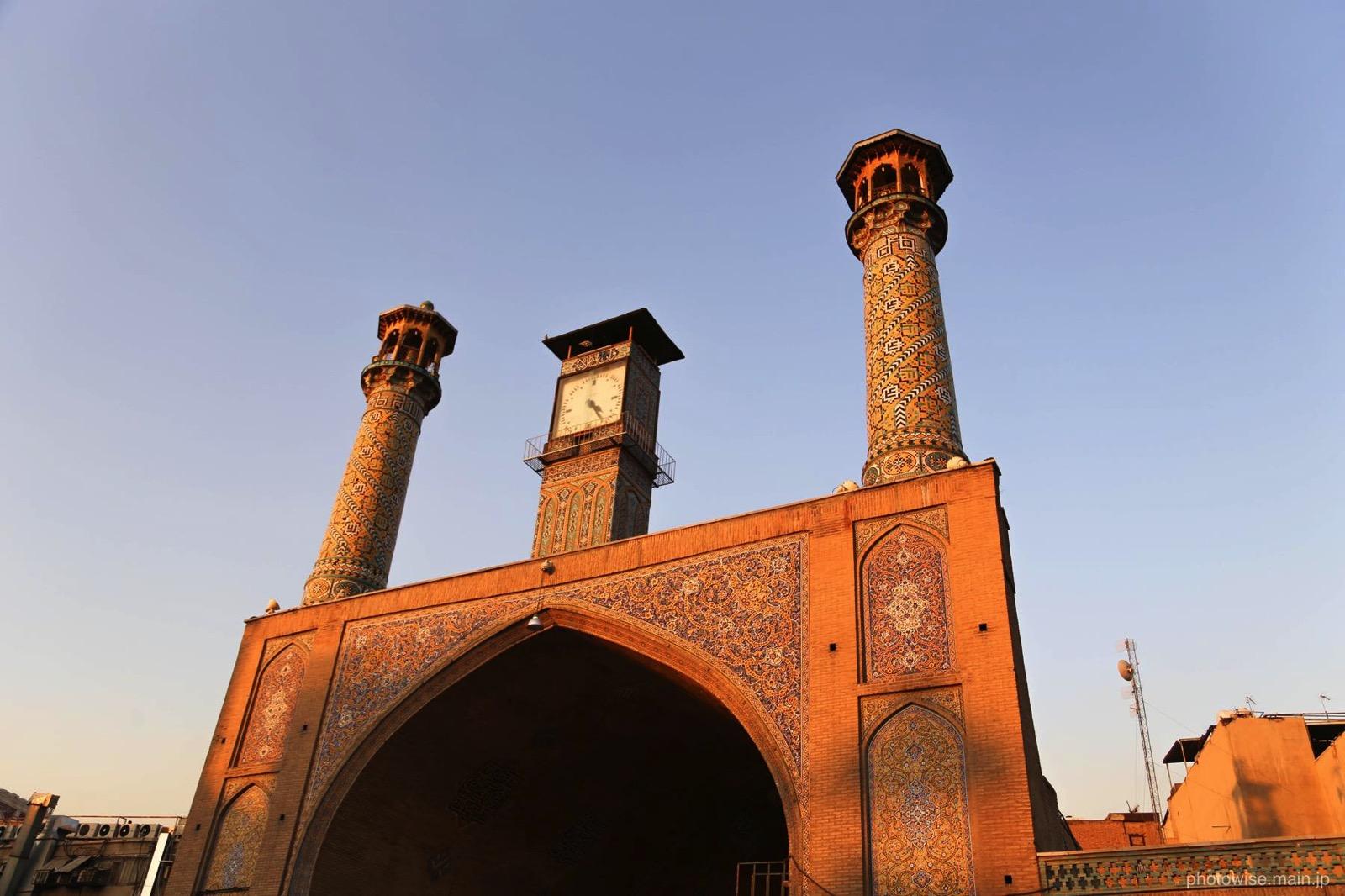 バザールのモスク
