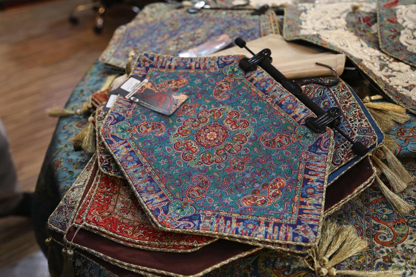 バザールの織物
