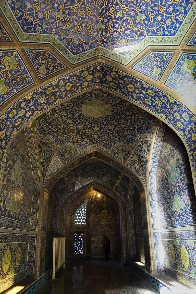 Sheikh Lotfollah Mosque内部