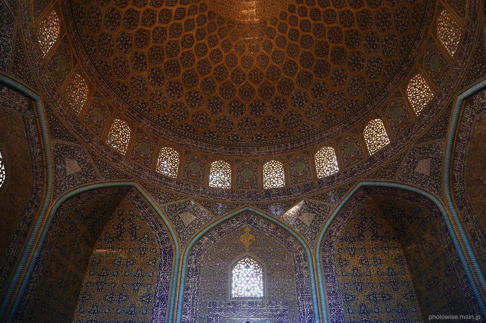 Sheikh Lotfollah Mosque-hall