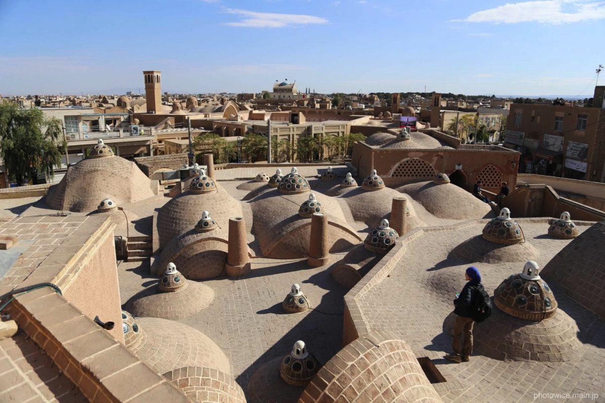 Sultan-Amir-Ahmad-Bathhouseの屋上.jpg