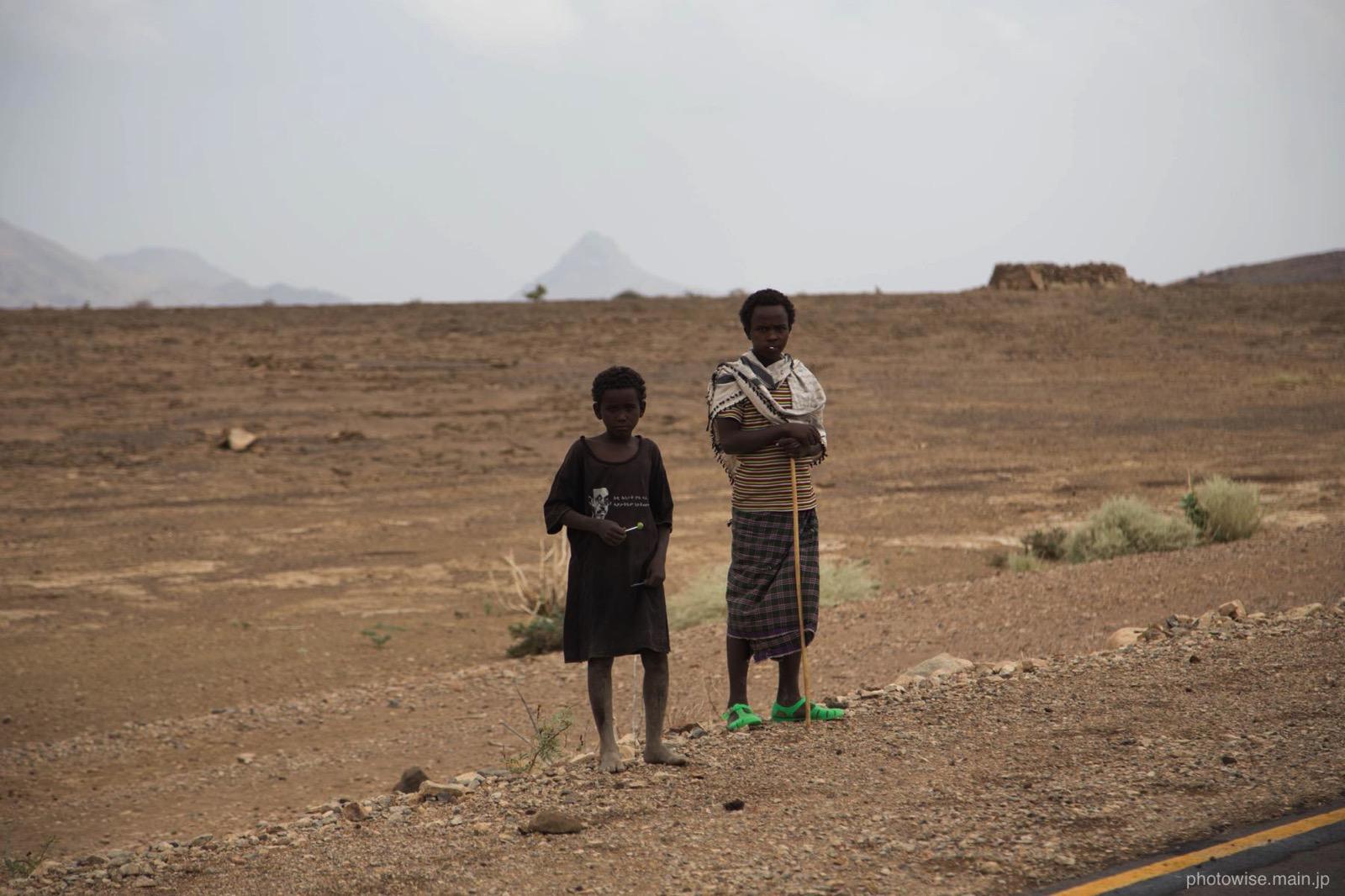 エチオピアの少年たち