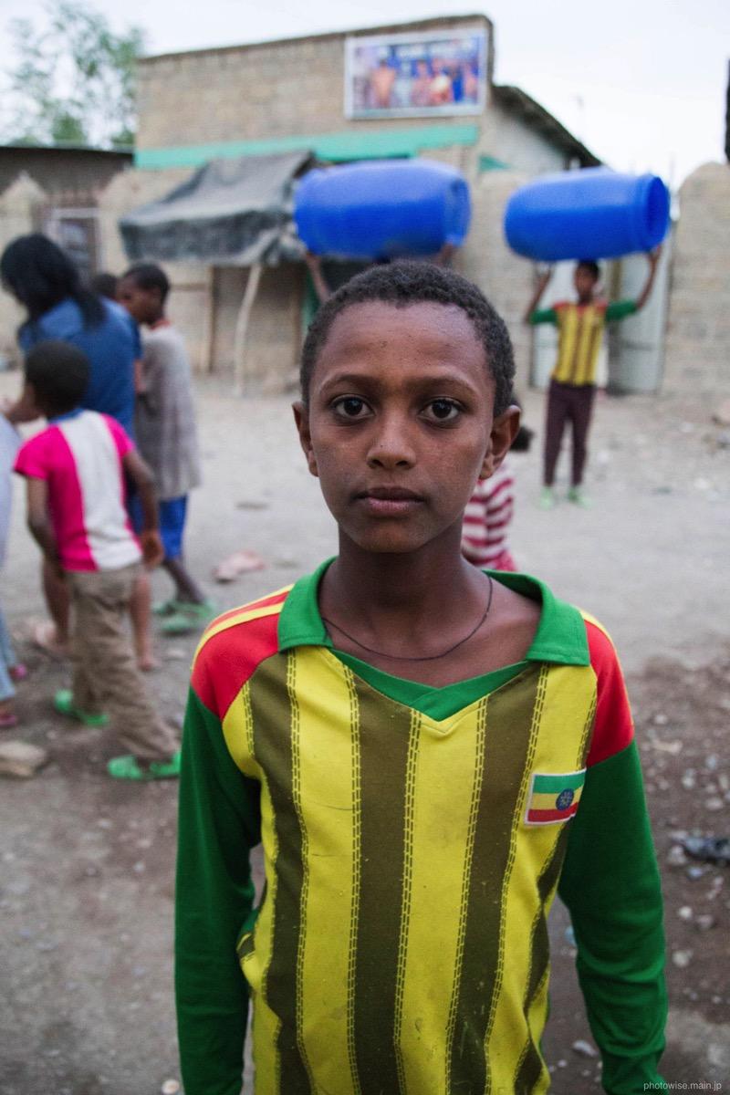 エチオピアの少年