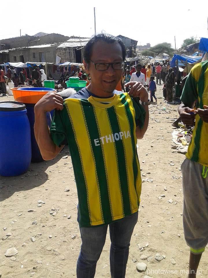 エリックとエチオピアTシャツ
