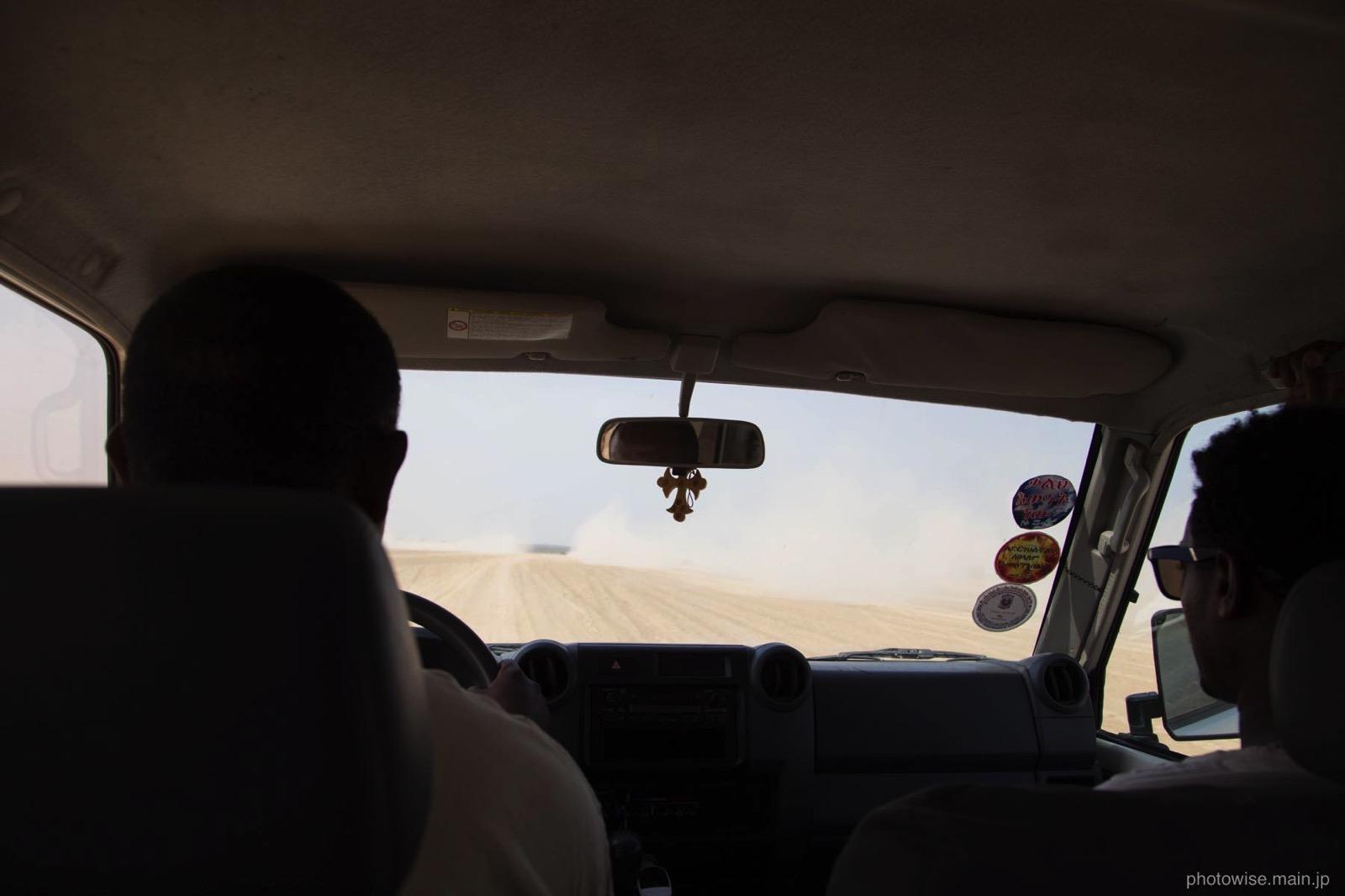 エルタ・アレへ向かう道