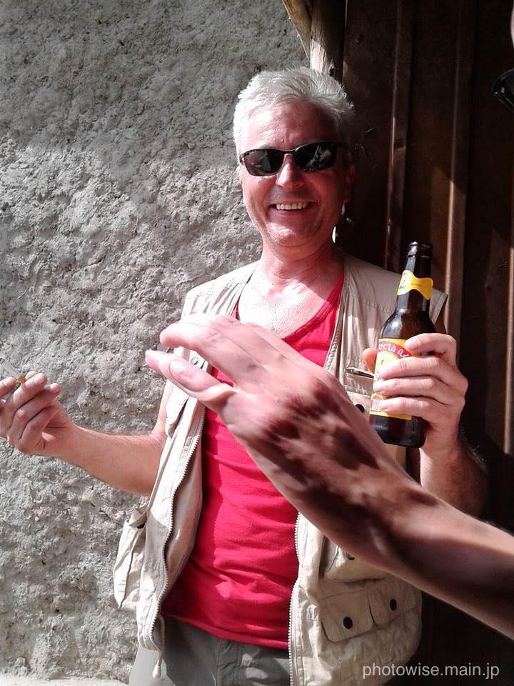 マルコはビール