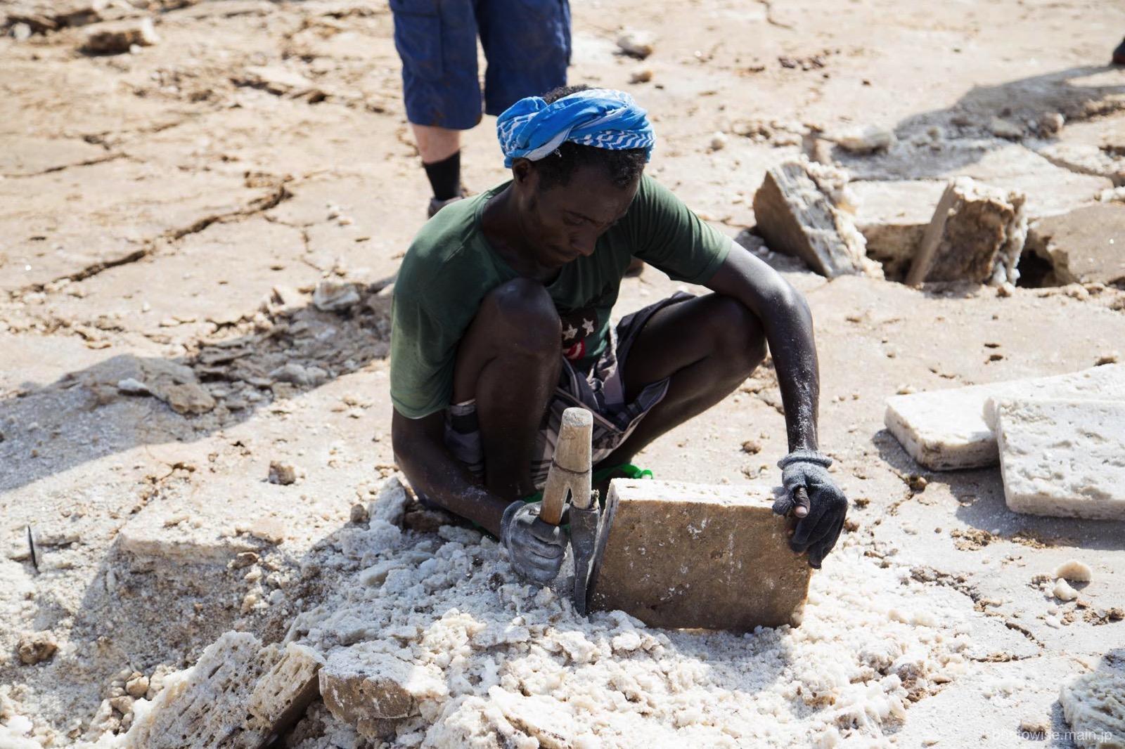 塩の採掘場2