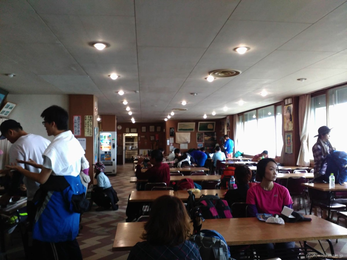富士宮5合目の食堂