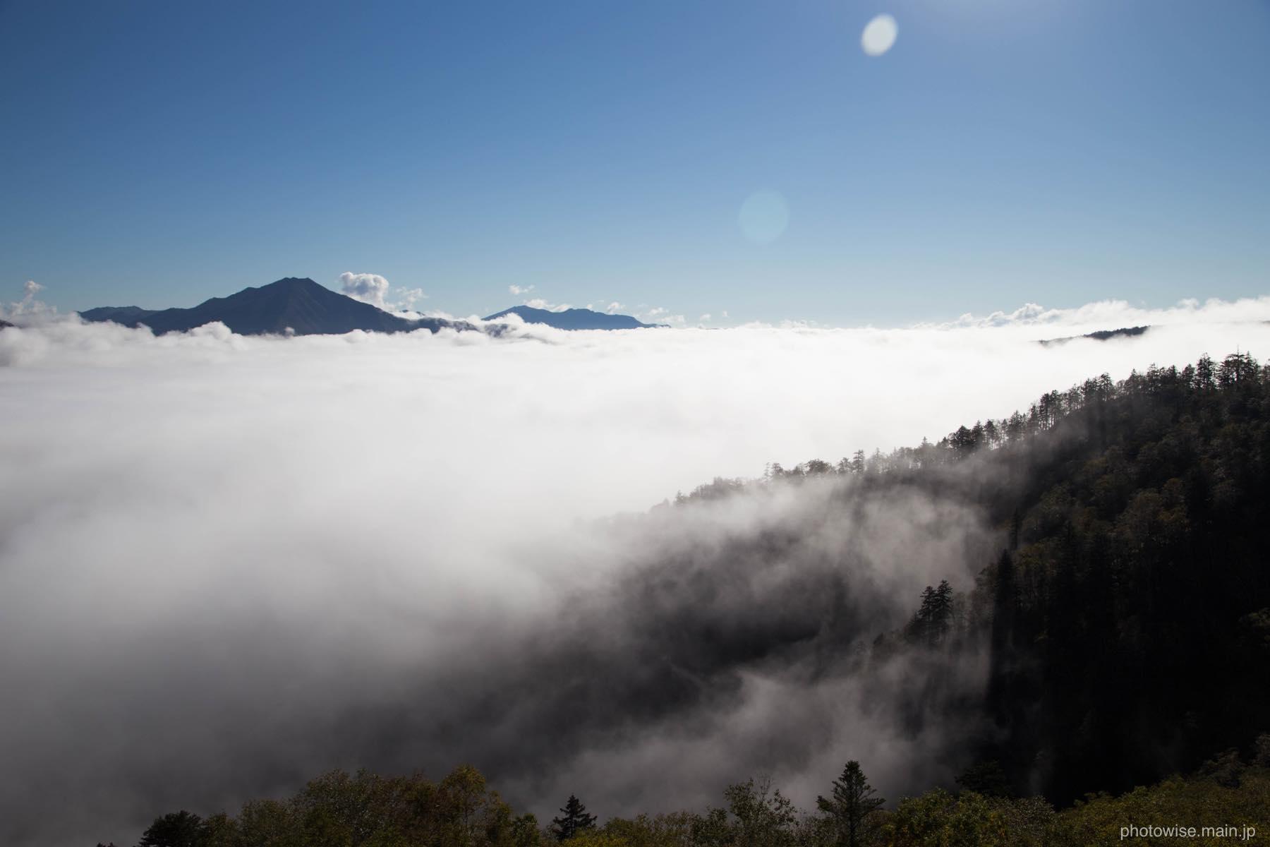 黒岳五合目の雲海