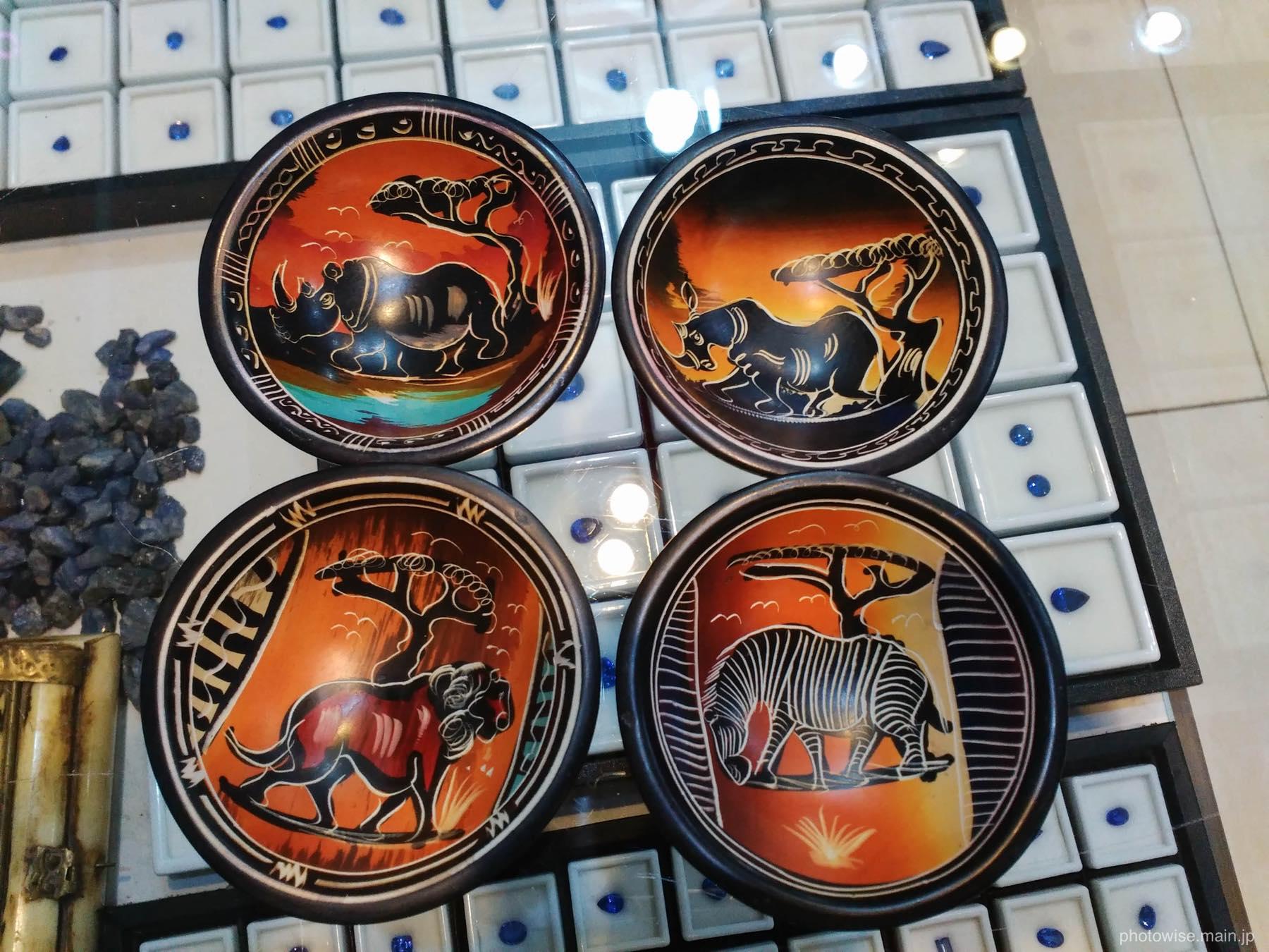 タンザニア土産の皿