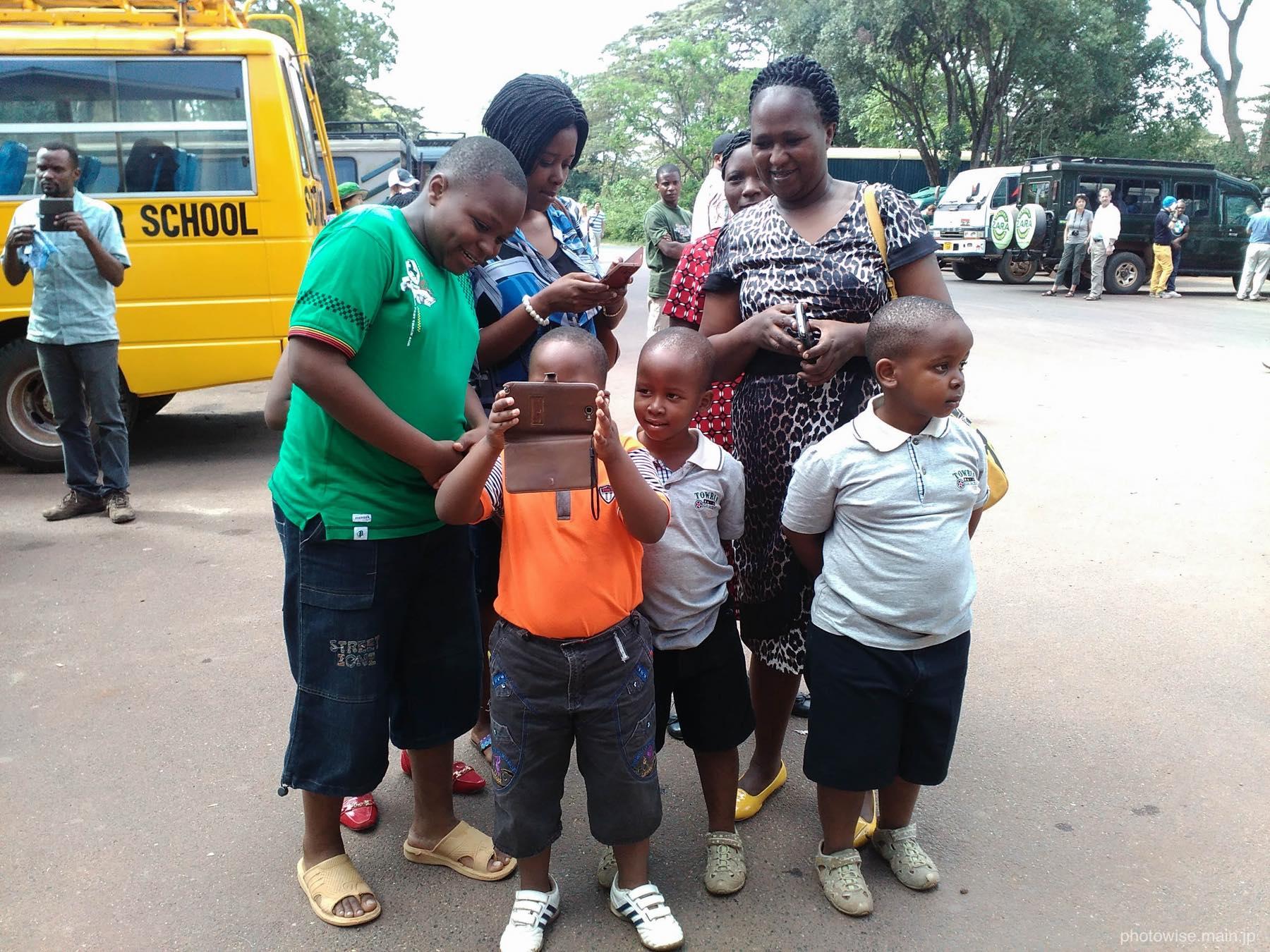 タンザニア人家族