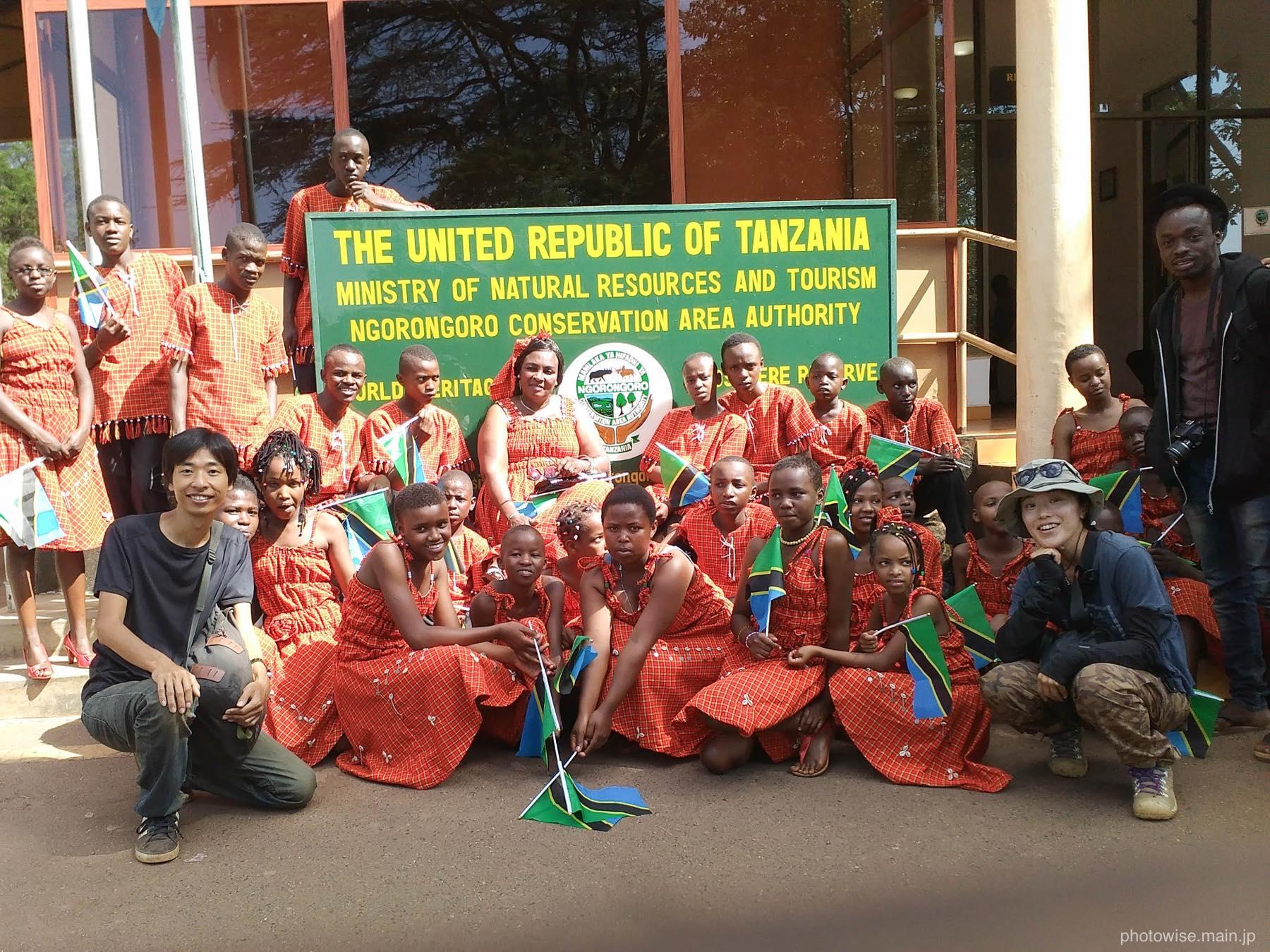 タンザニアのプロモーションPV撮影