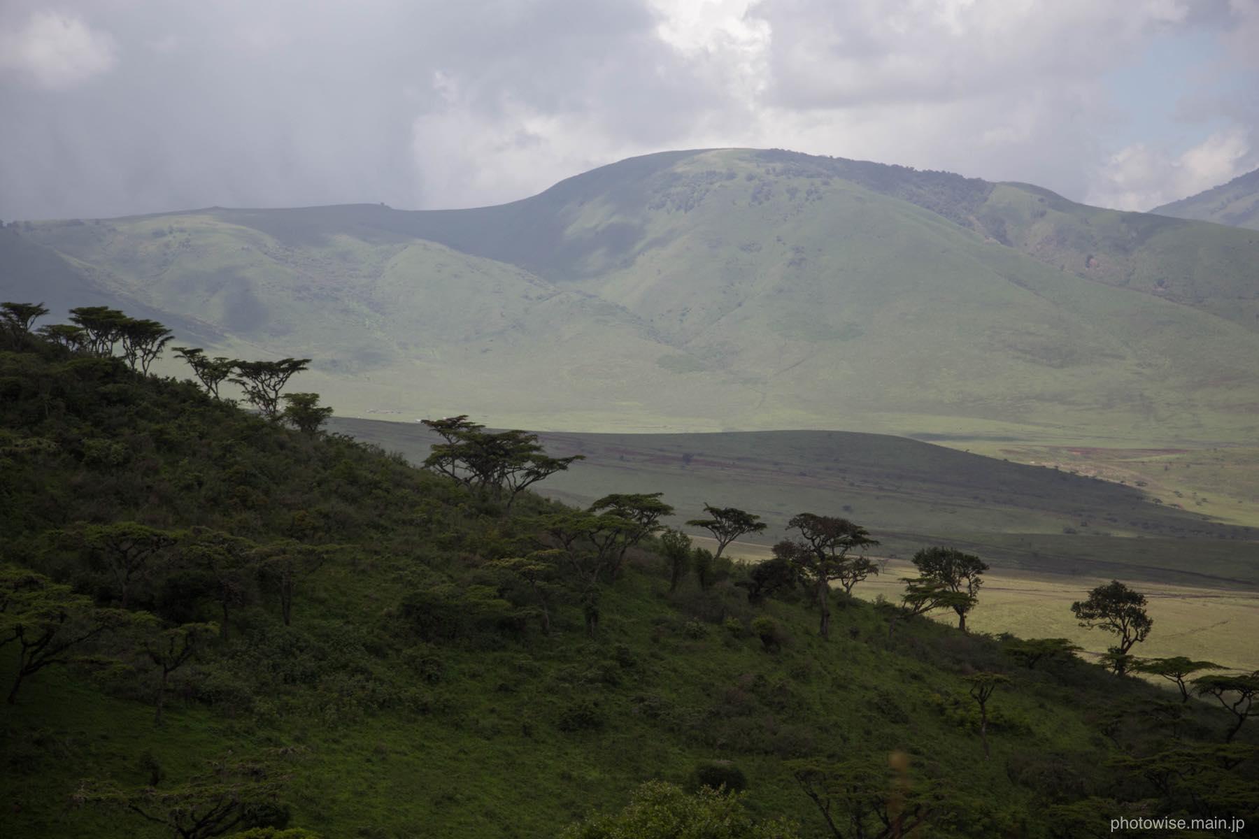 ンゴロンゴロの地形