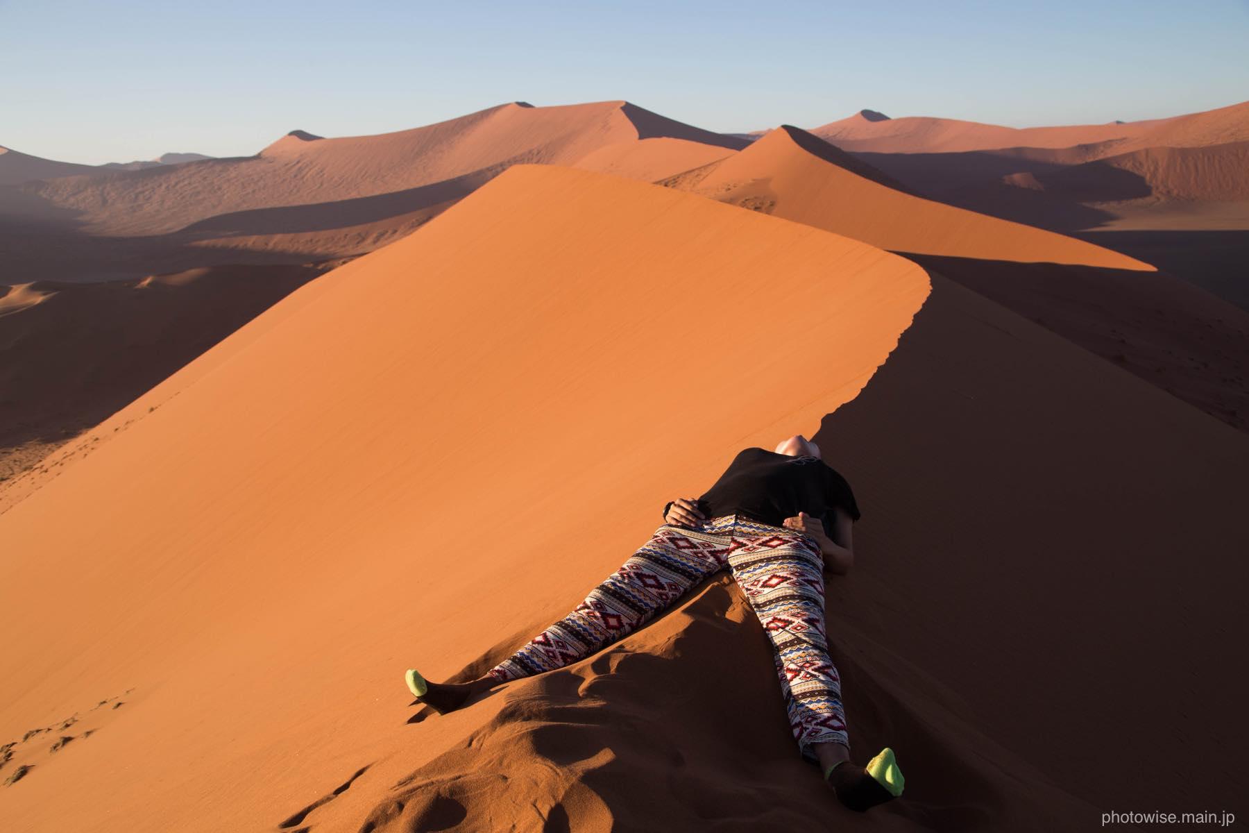 dune45で寝る