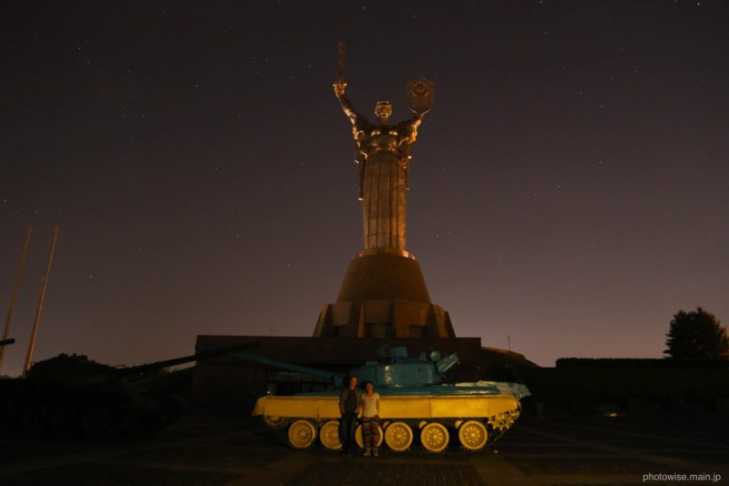 キエフの夜の散歩