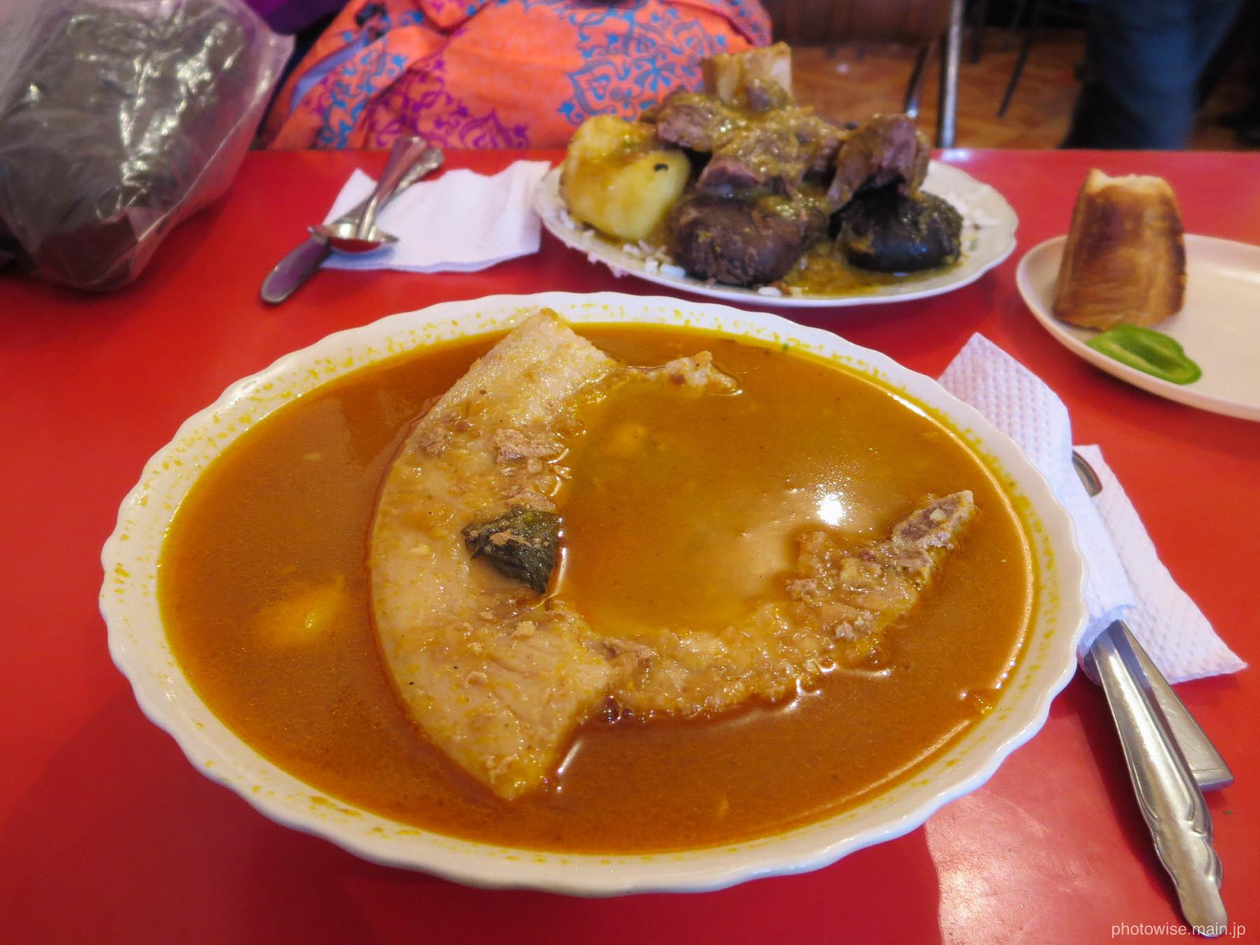 スープだっけ?